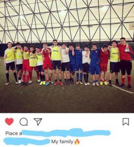 Adolescenza e calcio