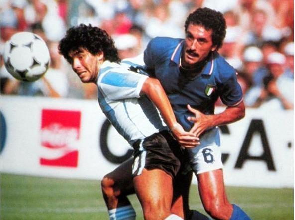 Uno contro uno: Gentile e Maradona