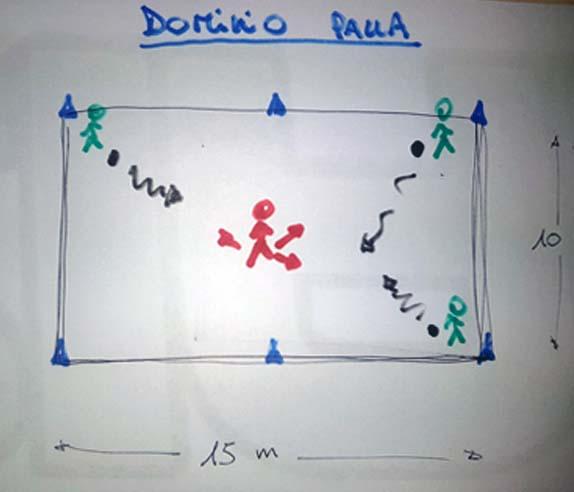 Guida e difesa della palla