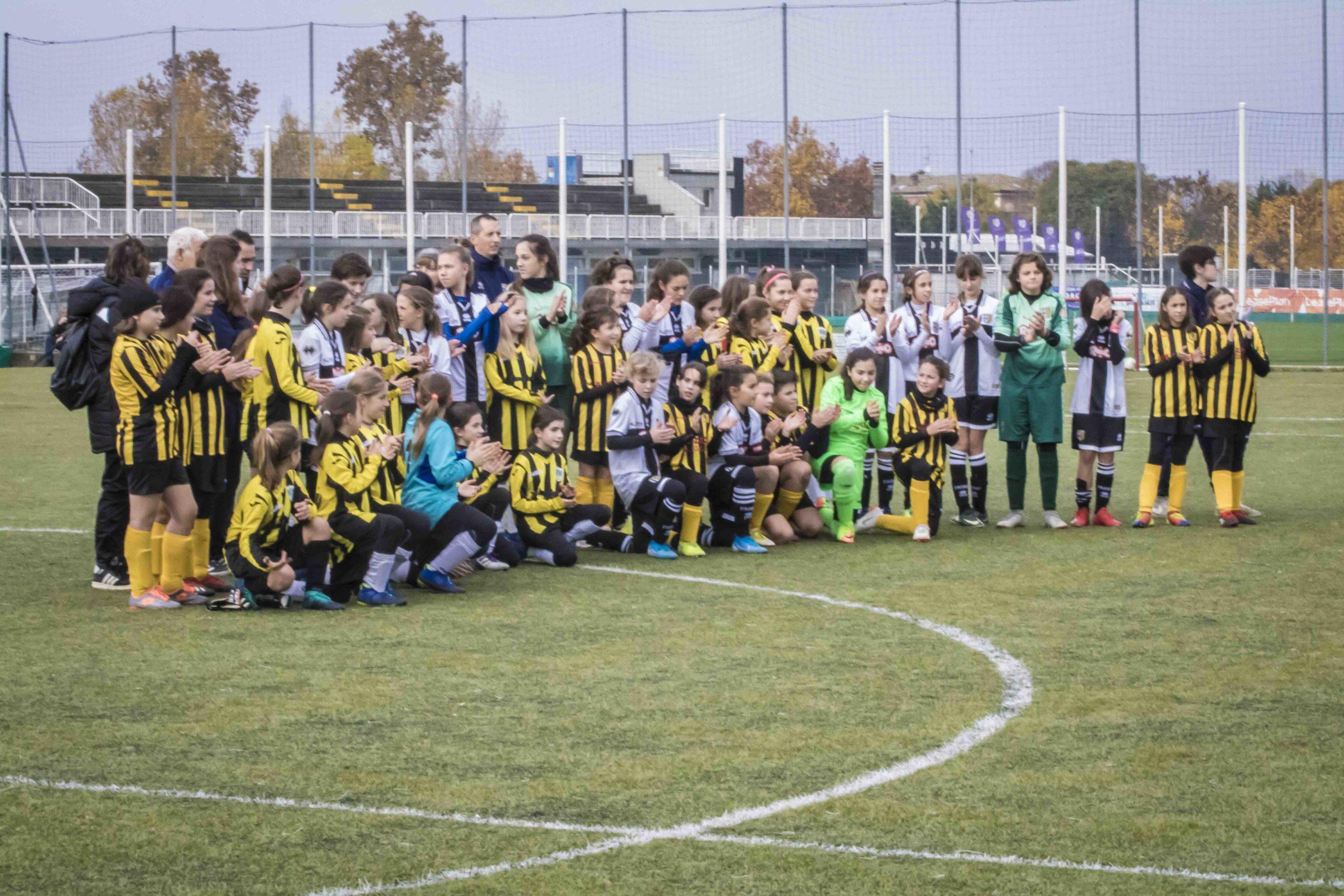 Calcio femminile giovanile: Under 12