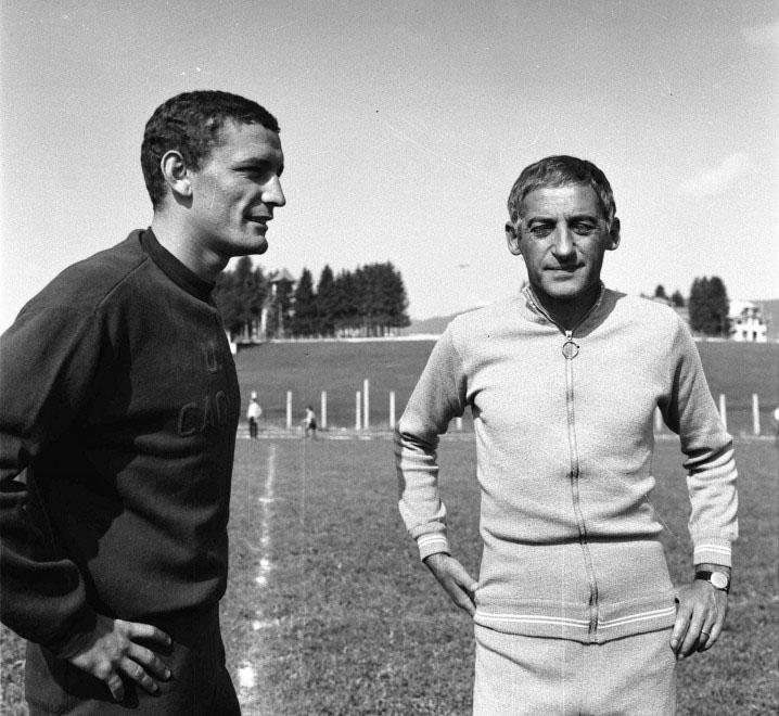 Manlio Scopigno e lo scudetto a Cagliari