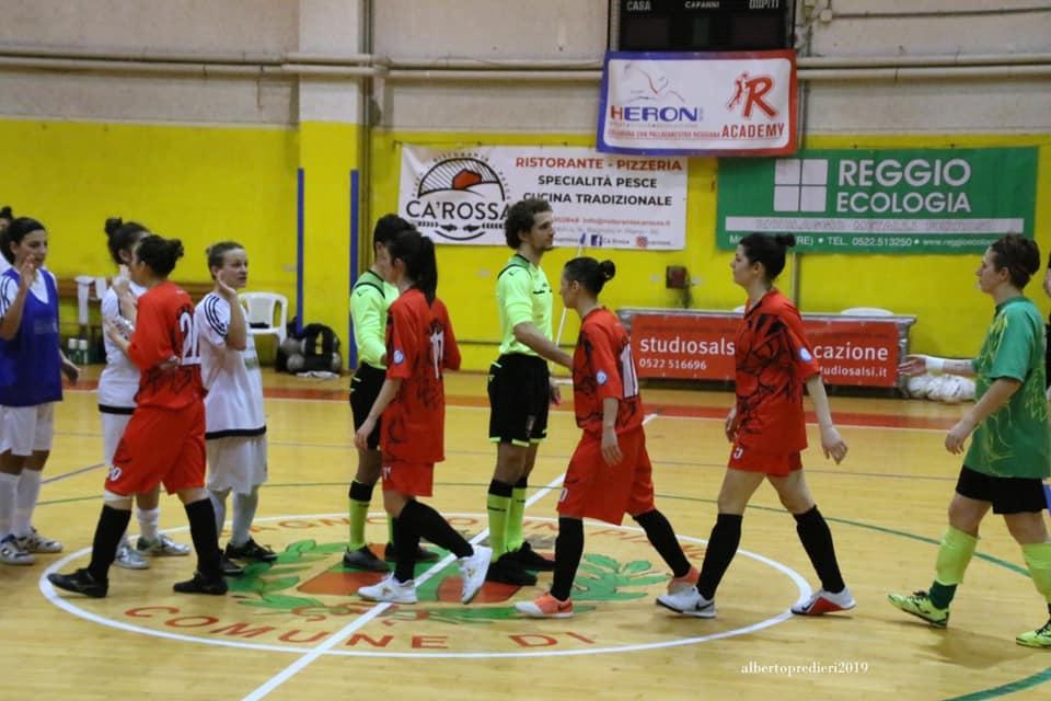 Calcio a 5 femminile: Bagnolo – Cesena