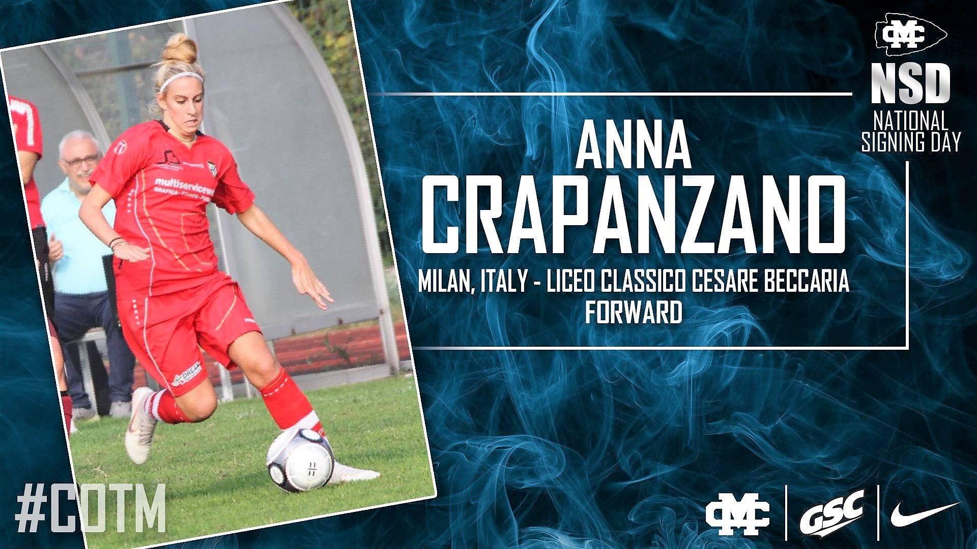 Calcio femminile internazionale: Anna Crapanzano ci racconta la sua esperienza al Mississippi College