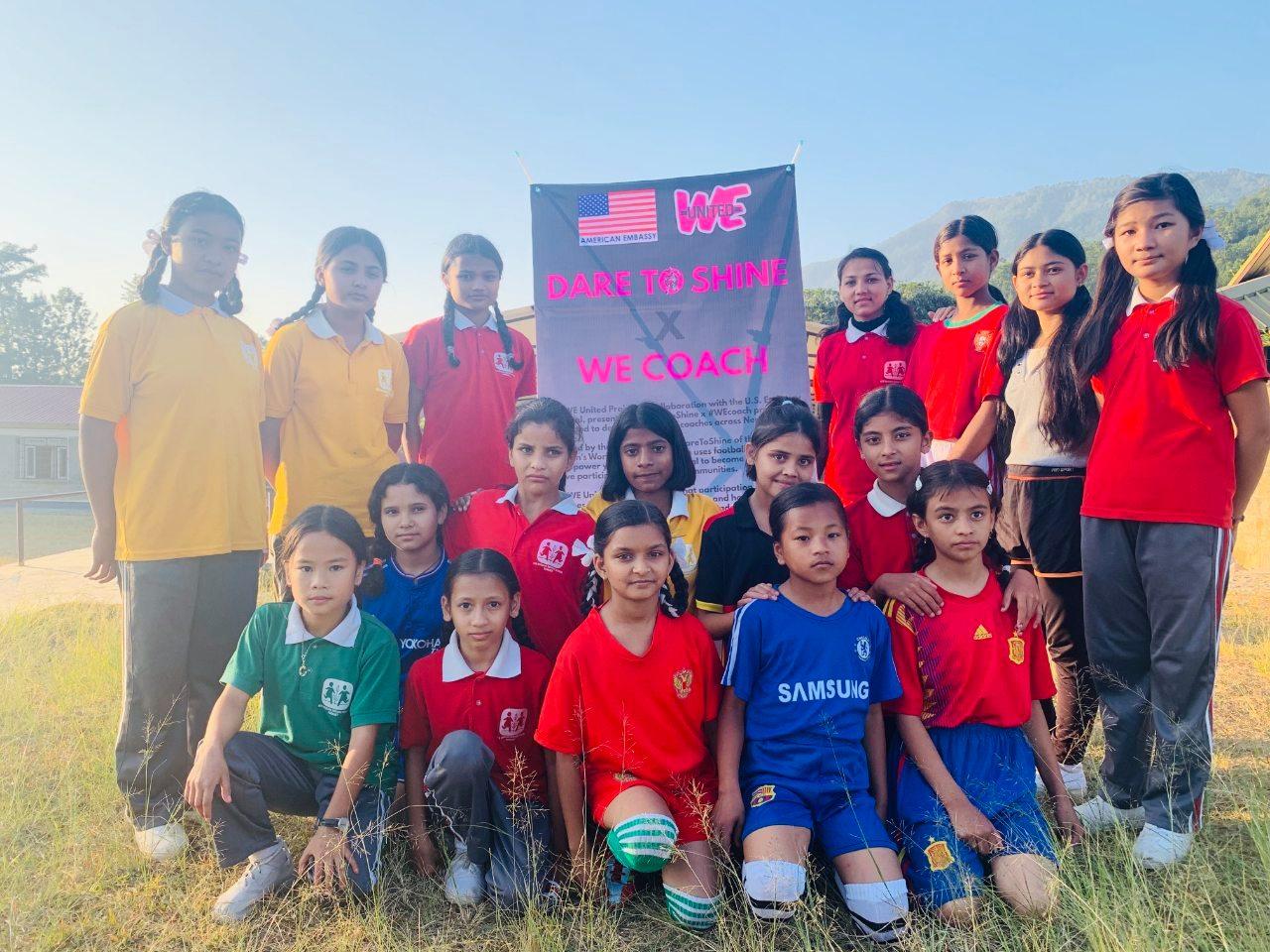 Calcio femminile internazionale: The WE United Project